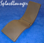 FLOAT PRODUCTS SPLASHLOUNGER - CHOCOLATE OR BLACK