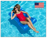 FLOAT PRODUCTS Aqua Hammock - Blue