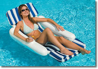 FLOAT PRODUCTS Sunchaser Padded Floating Lounger