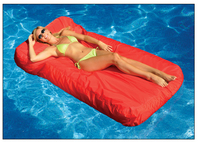 FLOAT PRODUCTS Sunsoft Fabric Covered Lounger - Orange