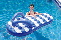 FLOAT PRODUCTS Flip Flop Float - Nautical Blue