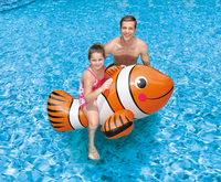 FLOAT PRODUCTS Giant 67in. Clown Fish Ride On